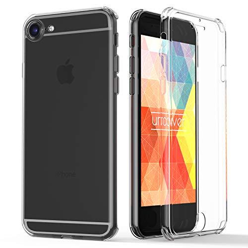 Urcover® 360 Grad rundum Schutzhülle kompatibel mit Apple iPhone 6 / 6s I berühmt aus Galileo I Quattro Edition I Transparent