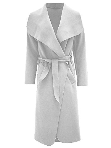 N&L Private LTD -  Cappotto  - Donna Cream Taglia unica