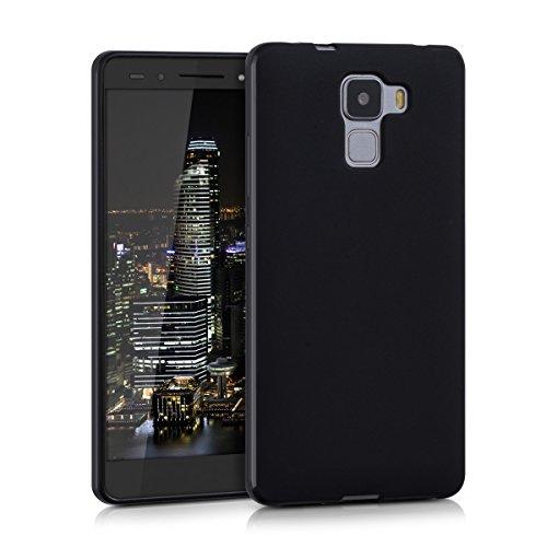 kwmobile Huawei Honor 7 / Honor 7 Premium Hülle - Handyhülle für Huawei Honor 7 / Honor 7 Premium - Handy Case in Schwarz matt