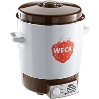Weck WAT 14A - Esterilizador para conservas (2000 W, sin temporizador, esmaltado, 230 V)