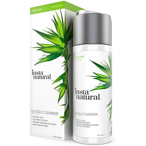 InstaNatural glicolico detergente viso - Anti rughe