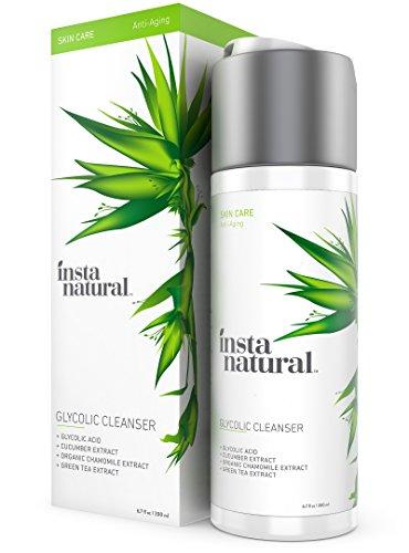 InstaNatural glicolico detergente viso - Anti rughe , Fine Line