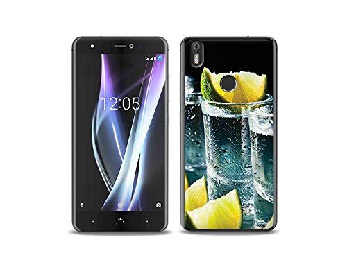 etuo BQ Aquaris X Pro - Hülle Foto Case - Tequila - Handyhülle Schutzhülle Etui Case Cover Tasche für Handy
