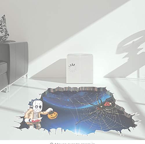 Happy Halloween Household Room Wandaufkleber Wanddekor Aufkleber Removable Terror (Seite Weit Halloween)