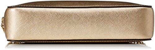 MICHAEL by Michael Kors Jet Set Travel Oro Large Crossbody Borsa Oro (Pale Gold)