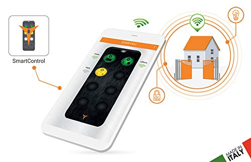 Apricancello Universale Wifi per Smartphone IPhone e Android. Kit Smart Control Plus Plus