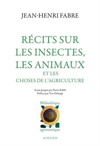 Rcits sur les insectes, les animaux et les choses de l'agriculture