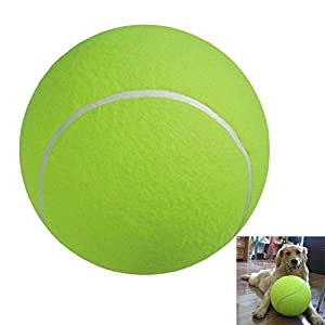 NUOLUX Tennis Ball for Large Pet Toys Outdoor Sports Beach 9.5-inch Review 2018