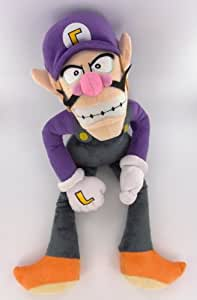 Peluche Super Mario Bros Waluigi 37 cm