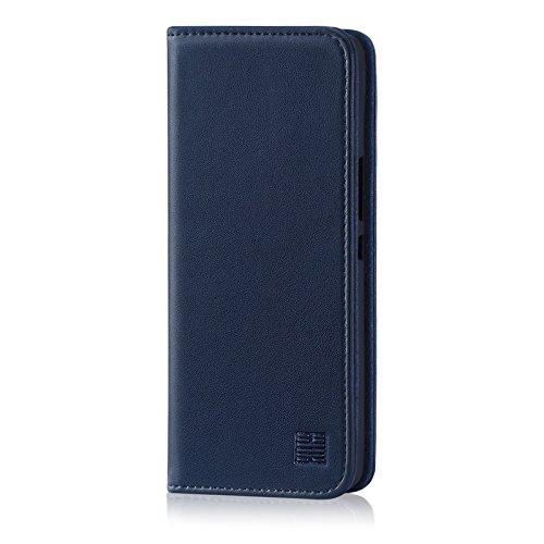 32nd Classic Series - Custodia a Portafoglio in Pelle Vera per HTC U12 Plus, Case Realizzato in Pelle Premium con...