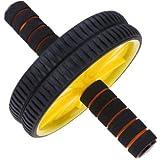 Anwaliya 4 Am Series Double Ab Wheel Roller/Carver/Abdominal Workout