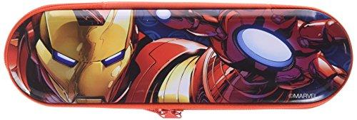 Avengers – Avengers – Estuche portatodo de metal con cremallera (Kids Euroswan KD-MV92244) (Kids Euroswan MV92244)