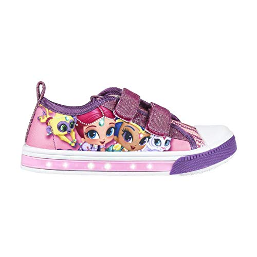 Cerdá Zapatilla Loneta Luces Shimmer and Shine