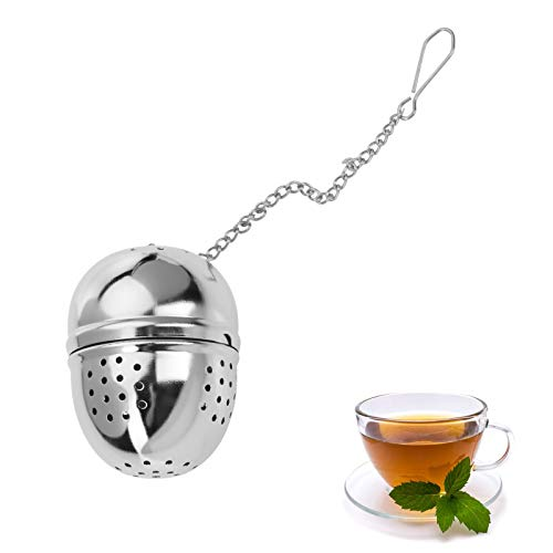 Westmark Tee-Ei, Ø 40 mm, Rostfreier Edelstahl, Teatime, Silber, 15362280
