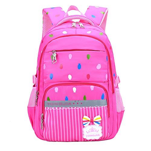 Zaino scuola bambino elementare borsa zainetto zaini scolastici backpack per bambini ragazza ragazzo,rosso