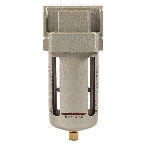 Filtro ad aria compressa 1/2 pollici, compressore, separatore di umidità, cattura, pulisce e filtra l'aria, estraendo impurità, 170x 70x 68mm.