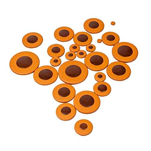 B Blesiya Durable 1 Paquet De Saxophones Ténor Synthétique Cuir Dia. 9cm-52cm