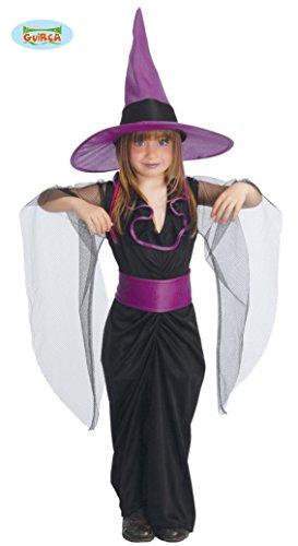 Kind Hexe Elegante Kostüme (elegantes Kinder Hexen Kostüm Gr. 110-146,)