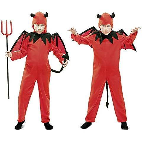 My Other Me - Disfraz de diablo, para niños de 1-2 años, color rojo (Viving Costumes MOM01851)
