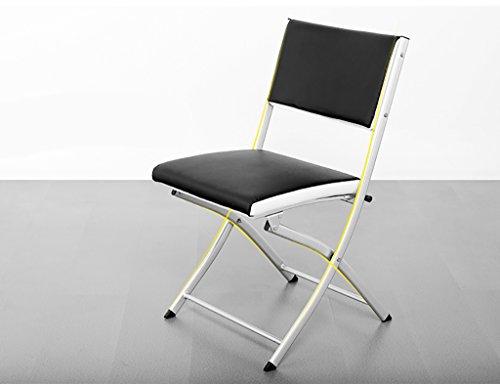 Chair QL Klappstühlen Konferenz-faltender beweglicher Stuhl-einfacher nach Hause faltender Büro-Stuhl (Größe: 40 * 41 * 80cm) Restaurant Klappstühle - Konferenz-büro-stuhl