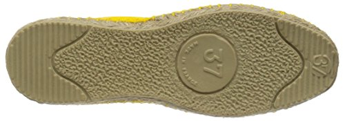 ESPADRIJ L'ORIGINALE classic 100 Unisex-Erwachsene Espadrille Halbschuhe Citron