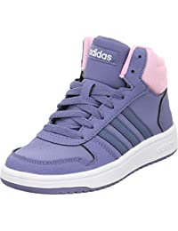 timeless design b515c 16a97 adidas Unisex-Kinder Hoops Mid 2.0 K Fitnessschuhe