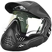 Valken 3 Field pantalla Thermal máscara de Paintball Unisex, negro
