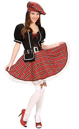 ,Karneval Klamotten' Kostüm Schottin Inverness Dame Kostüm Karneval Schottland Damenkostüm Größe 42/44 (Schottland Kostüme Für Kinder)