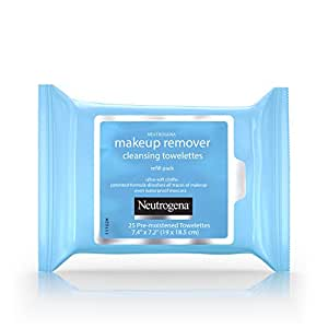 Neutrogena Makeup Remover Cleansing Towelettes Refill Pack, 25 Count