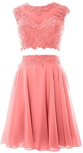 MACloth - Robe - Trapèze - Sans Manche - Femme Small Blush Pink