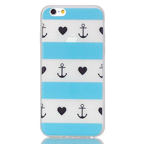 """iPhone 6s Luminous Coque, MOONCASE iPhone 6 Etui Noctilucent Back Coque Thin Fit TPU Housse Cover Case pour iPhone 6 (2014) / 6s (2015) 4.7"""" - YT06 Série Moonlight - YT12"""