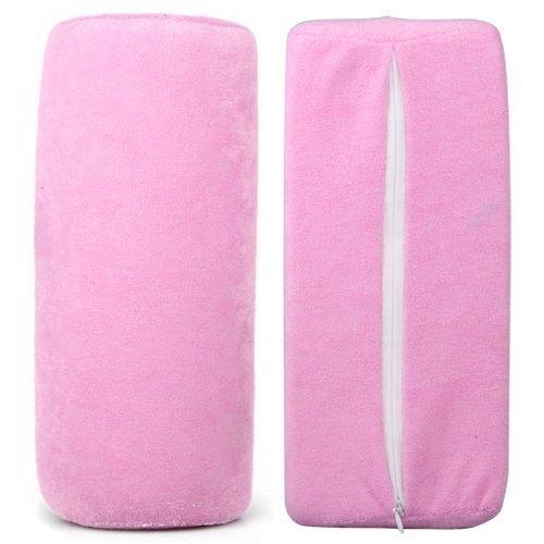 Resto de la almohada del amortiguador de la mano para el color al azar del salón de la manicura del arte del clavo