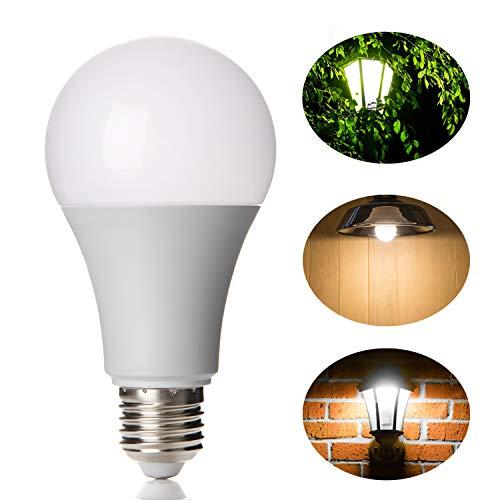 Lineway LED Glühbirne mit Bewegungsmelder, 12W E27 Radarsensor Kaltweiß (6000K) Smart Radarsensor Licht Energiesparlampe für Treppen Kellerabgang Haustür Garten Garage