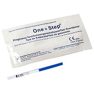 25 x Schwangerschaftstest One+Step – Ultrafrühtest 10 miu/ml
