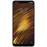 Xiaomi M1805E10AN-128 PocophoneF1 Smartphone, 128 GB Schwarz
