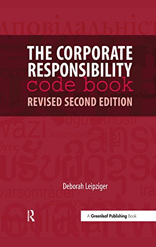 The corporate responsibility code book ebook deborah leipziger the corporate responsibility code book by leipziger deborah fandeluxe Image collections