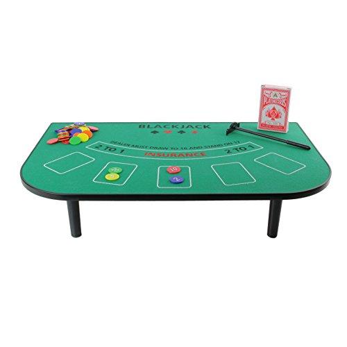 Mister Gadget-mg3080-Gesellschaftsspiele-Tisch Blackjack -