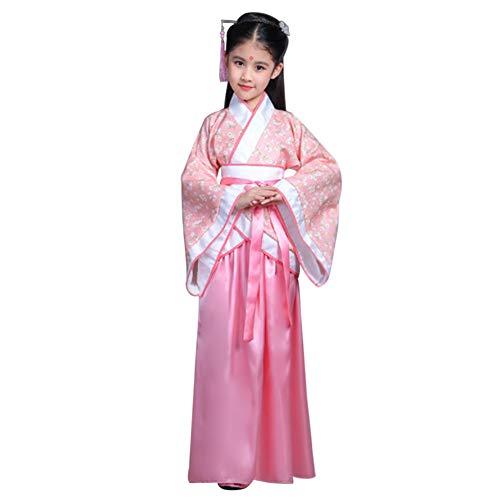 Yudesun Mädchen Prinzessin Chinesisch Royal Robe - Jahrgang Historisch Aristokratisch Hanfu Kinder Tag Aktivitäten Kleid Bis Cosplay Party Folk ()