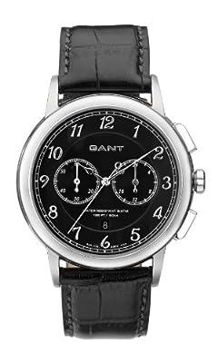 Gant W70231 - Reloj analógico para caballero de cuero negro de Gant