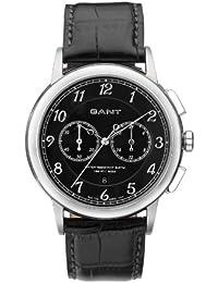 Gant W70231 - Reloj analógico para caballero de cuero negro