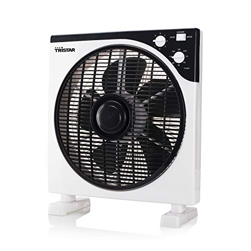 Ventilateur Tristar VE-5996 - 30 cm - Minuterie - Design carré