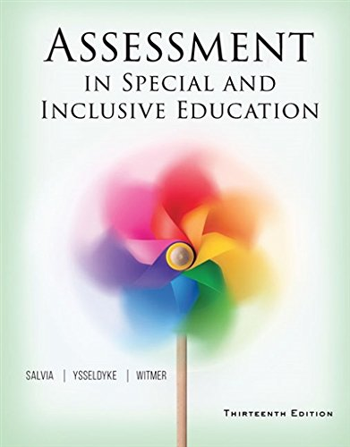 MindTap Course List 9781305642355 By John Salvia James Ysseldyke Sara Witmer And AcaA Amazon Com Assessment In Special Inclusive Education