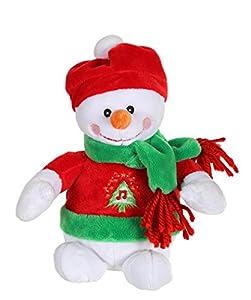 Gipsy-70610-Peluche de déco de Navidad-muñeco de Nieve-16cm