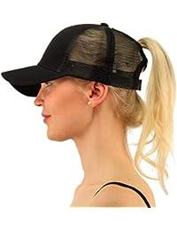 Amayay Gorros Gorra De Sombrero Mujer para Béisbol De Hip Hop Estilo Simple  Sombrero Ajustable Gorra Deportiva Y De Viaje Gorra… 97d6503ec1f