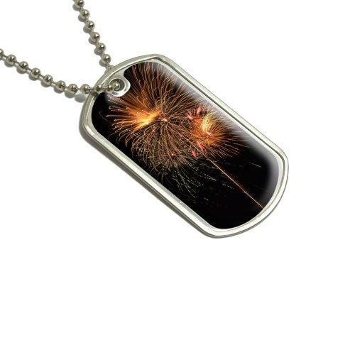 te von Juli Militärische Erkennungsmarke Gepäck Schlüsselanhänger (Vierten Juli-zubehör)