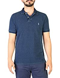 Ralph Lauren Polo Shirt In Dark Blue, Hombre.