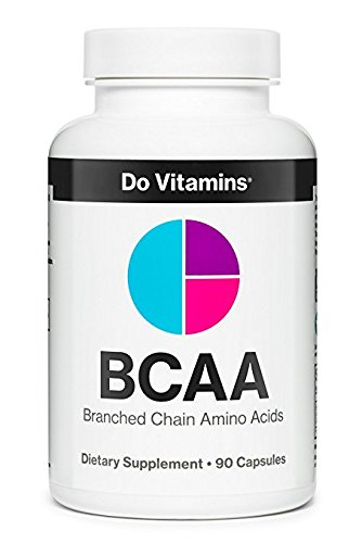 BCAA Capsules – Pure Plant Based Essential Branched Chain Amino Acids Supplement for...