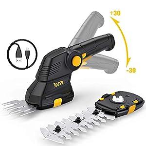 TECCPO Forbici a Batteria, 3.6V Sfoltirami Cesoie 1.5Ah, USB Carica, Larghezza di Taglio 70mm, Lunghezza di Taglio 115mm… 41QZrwFjgYL. SS300