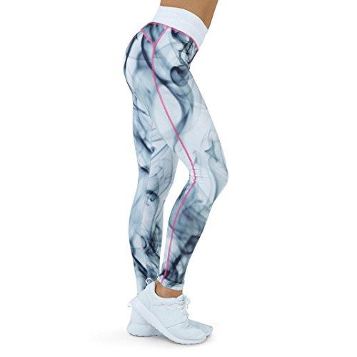 ❤️Yoga Sport Pants❤️- beautyjourney Pantaloni Tuta Donna palestra donna leggings donna fitness palestra pantaloni Leggins Sportivi Donna yoga donna leggins fitness pantaloni di Yoga Bianca-3
