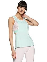 Just F by Jacqueline Fernandez Women's Floral Regular Fit Vest Top